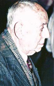 Octavio  J. Palao, flautista de Honor de la Banda