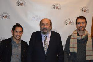 Entrevista a Álex González y Adrián Ortín