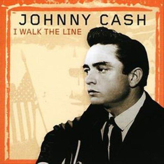 """I WALK THE LINE"" (En la cuerda floja) Johnny Cash & June Carter."